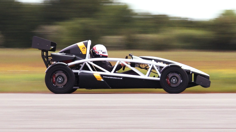 The new Ariel Atom 3.5R at Goodwood