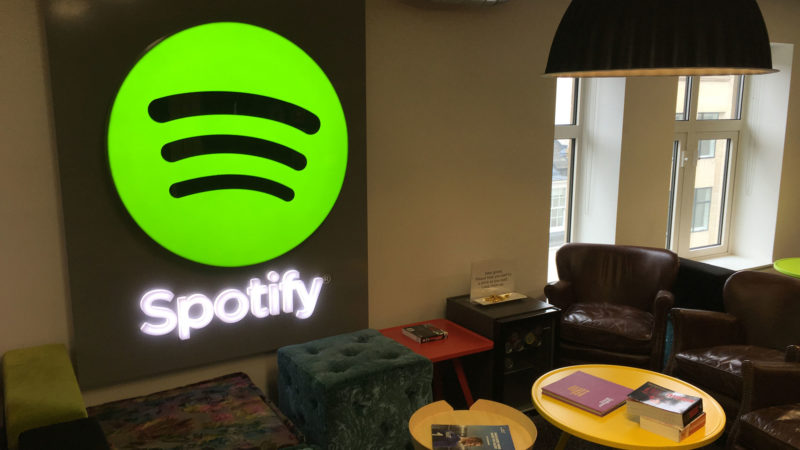 Live web stream for Spotify