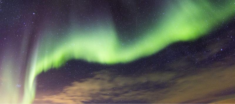 Filming the Aurora Borealis